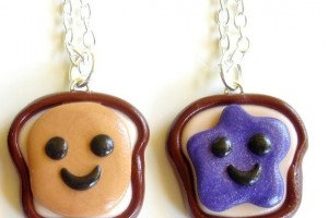 Jewelry , 8 Outstanding Peanut Butter And Jelly Necklaces : Jelly Best Friend Necklaces