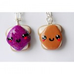 Jelly Friendship Necklaces , 8 Outstanding Peanut Butter And Jelly Necklaces In Jewelry Category