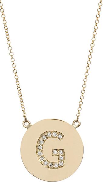 Jewelry , 9 Good Jennifer Meyer Initial Necklace : Jennifer Meyer G Pendant