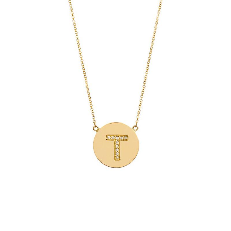 Jewelry , 9 Good Jennifer Meyer Initial Necklace : Jennifer Meyer Initial Pendant