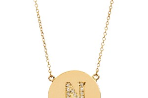 Jewelry , 9 Good Jennifer Meyer Initial Necklace : Jennifer Meyer Yellow Gold