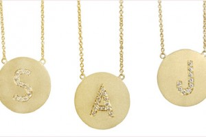 Jewelry , 9 Good Jennifer Meyer Initial Necklace : Jennifer Meyer necklaces