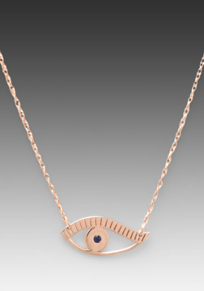 8 Fabulous Jennifer Zeuner Evil Eye Necklace in Jewelry