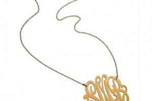 Jewelry , 7 Good Jennifer Zeuner Swirly Initial Necklace : Jennifer Zeuner Large Swirly