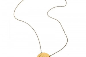 Jewelry , 8 Awesome Jennifer Zeuner Initial Necklace : Jennifer Zeuner Swirly