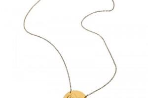 Jewelry , 8 Awesome Jennifer Zeuner Initial Necklace : Jennifer Zeuner Swirly