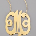 Jennifer Zeuner Swirly Initial Necklace , 7 Charming Jennifer Zeuner Monogram Necklace In Jewelry Category