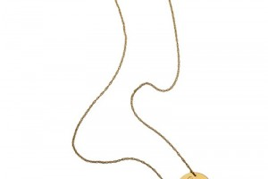 Jewelry , 8 Awesome Jennifer Zeuner Initial Necklace : Jennifer Zeuner Swirly Initial