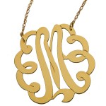 Jewelry Swirly Initial Necklace , 6 Charming Swirly Initial Necklace In Jewelry Category
