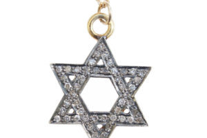 Jewelry , 8 Popular Diamond Jewish Star Necklace : Jewish Star Diamond Necklace