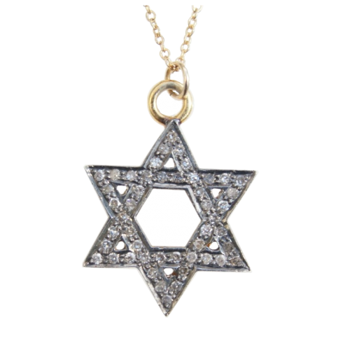 8 Popular Diamond Jewish Star Necklace in Jewelry
