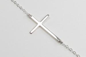 570x482px 8 Fabulous Roseark Sideways Cross Necklace Picture in Jewelry