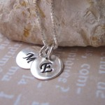Kids Initial Necklace For Moms , 8 Fabulous Initial Necklaces For Moms In Jewelry Category