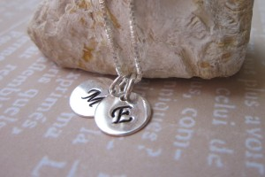 Jewelry , 8 Fabulous Initial Necklaces For Moms : Kids Initial Necklace For Moms