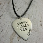 Leather Color Necklace  , 7 Popular Personalized Guitar Pick Necklaces In Jewelry Category