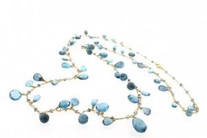 Jewelry , 8 Awesome Dana Kellin Necklace : London Blue Topaz Necklace