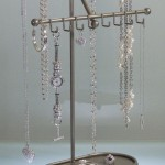 Long Necklace Holder , 6 Lovely Origami Owl Necklace Display In Jewelry Category