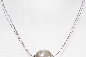 Jewelry , 8 Lovely Majorica Baroque Pearl Necklace : Made Pearl Pendant Necklace