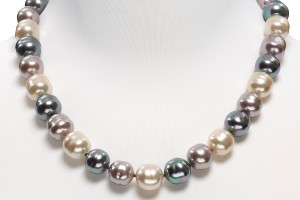 Jewelry , 8 Lovely Majorica Baroque Pearl Necklace : Majorica Baroque Pearl Necklace