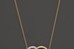 Jewelry , 8 Lovely Marco Bicego Jaipur Necklace : Marco Bicego Diamond Jaipur Link Pendant