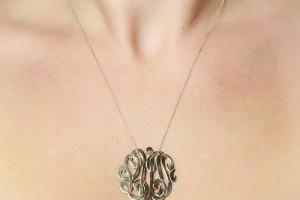 1000x1000px 7 Nice Monogram Necklace Lauren Conrad Picture in Jewelry