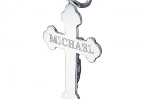 Jewelry , 7 Fabulous Engravable Cross Necklace For Men : Mens Crucifix Cross Necklace
