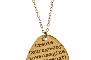 450x540px 8 Gorgeous Guitar Pick Necklace Engraved Picture in Jewelry