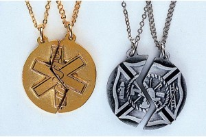 Jewelry , 7 Fabulous Firefighter Maltese Cross Necklace : Miz Pah Maltese Cross Necklace