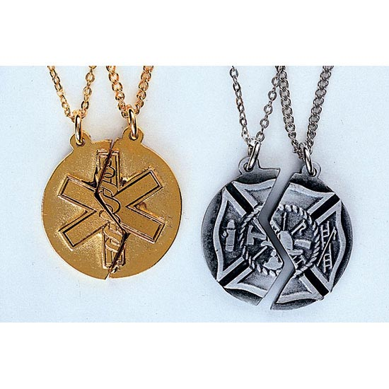 7 Fabulous Firefighter Maltese Cross Necklace in Jewelry