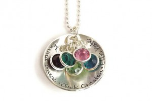568x570px 8 Charming Birthstone Necklaces For Mothers Picture in Jewelry