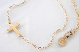 Jewelry , 8 Nice Sideway Cross Necklace : My sideways cross necklace