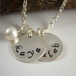 Name Necklace for Mom , 8 Charming Initial Necklace For Moms In Jewelry Category