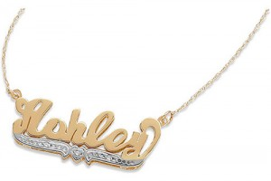 500x500px 8 Fabulous 3D Nameplate Necklace Picture in Jewelry