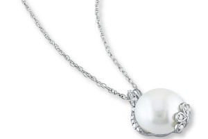 Jewelry , 8 Stunning Kay Jewelers Pearl Necklace : Necklace Ballerinas Pendant