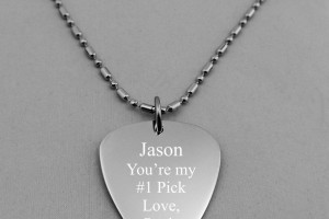Jewelry , 7 Popular Personalized Guitar Pick Necklaces : Necklace Bff Set