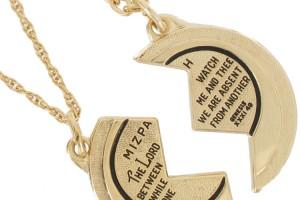 Jewelry , 7 Beautiful Mizpah Necklace : Necklace Gold Tone