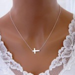 Necklace with sideways cross clasp , 7 Awesome Meaning Behind Sideways Cross Necklace In Jewelry Category