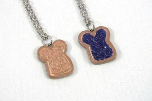 570x428px 8 Outstanding Peanut Butter And Jelly Necklaces Picture in Jewelry