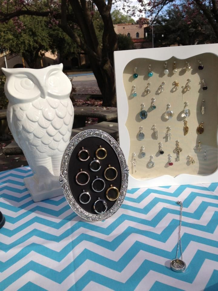 6 Lovely Origami Owl Necklace Display in Jewelry