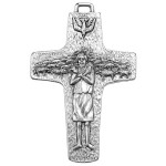 POPE FRANCIS PAPAL CROSS PENDANT , 8 Good Papal Crucifix Necklace In Jewelry Category