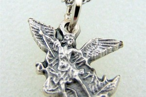 Jewelry , 6 Gorgeous Archangel Michael Necklace : Pendant with Diamond