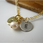 Personalized Initial Pendant Necklace , 8 Fabulous Initial Necklaces For Moms In Jewelry Category