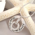Personalized Jewelry , 8 Charming Initial Necklace For Moms In Jewelry Category