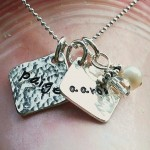 Personalized Necklace for Moms , 8 Charming Initial Necklace For Moms In Jewelry Category