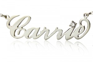 800x800px 7 Amazing Carrie Bradshaw Name Necklace Picture in Jewelry