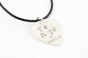 Jewelry , 7 Popular Personalized Guitar Pick Necklaces : Pick Necklace