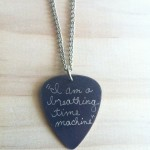 Pick Necklace , 8 Gorgeous Guitar Pick Necklace Engraved In Jewelry Category