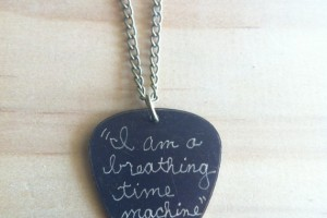 Jewelry , 8 Gorgeous Guitar Pick Necklace Engraved : Pick Necklace