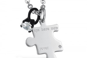 500x421px 8 Lovely Matching Puzzle Piece Necklace Picture in Jewelry