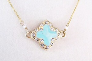 Jewelry , 8 Awesome Tiffany Clover Necklace : Quatrefoil Necklace